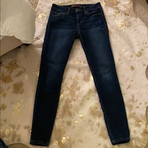 The Icon mid rise skinny ankle jeans